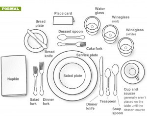 Table Setting Rentals