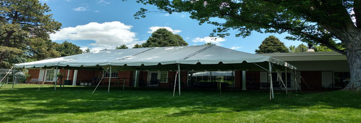 Tent Rental - Backyard Cocktails