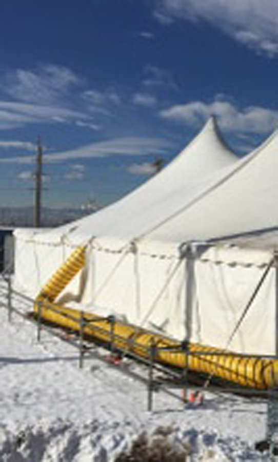 Tent rental - Construction & Energy