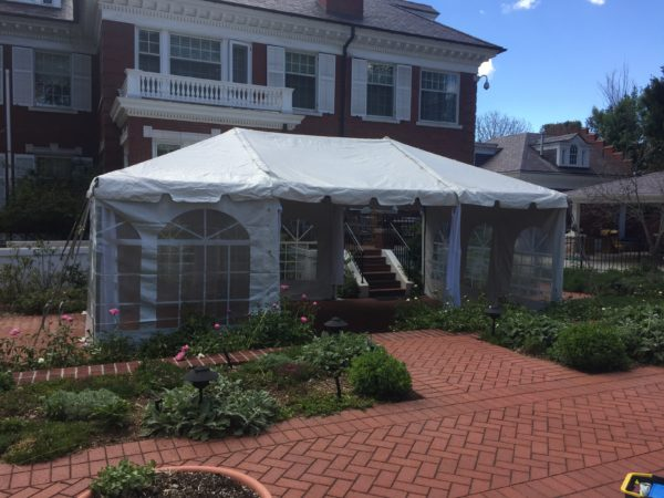 15' Wide Tent - 15'x35'