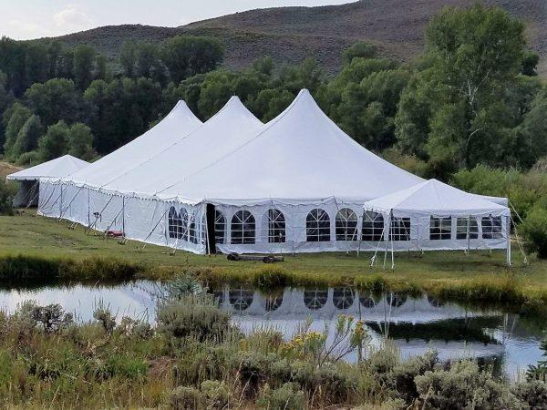 50'x100' Pole Tent