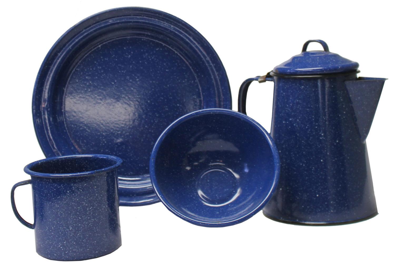 Blue Enamel China