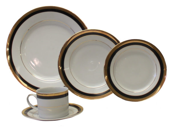 Gold and Black Band China