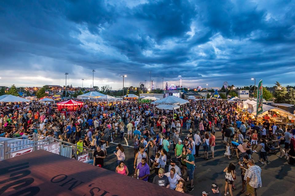 Parker Days Festival Tents