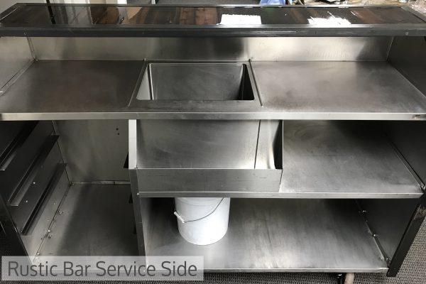 Rustic Bar - Service Side