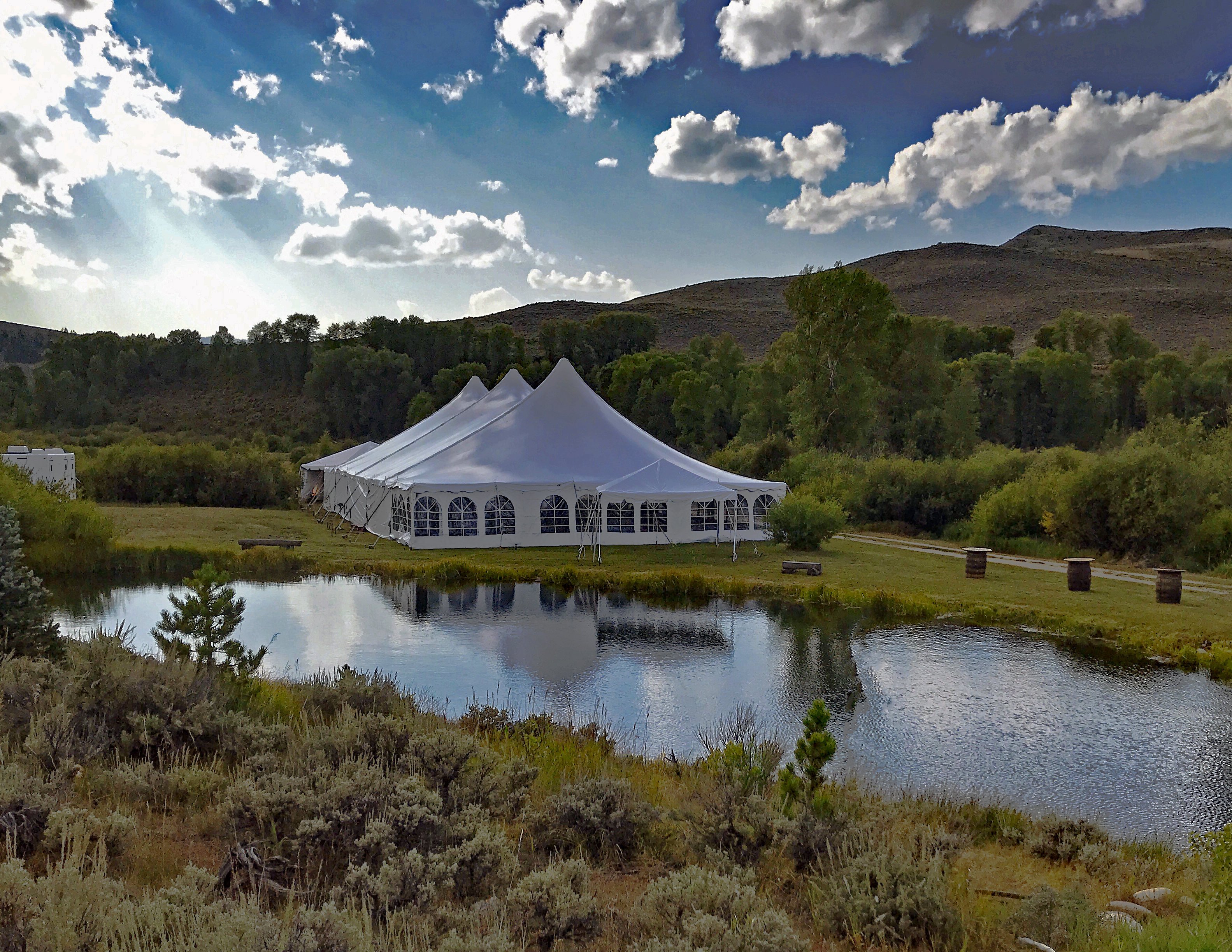 50'x100' Tent Winter Park