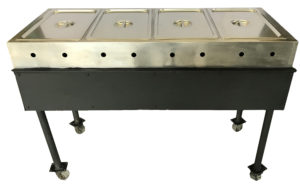 4 Bay Steam Table