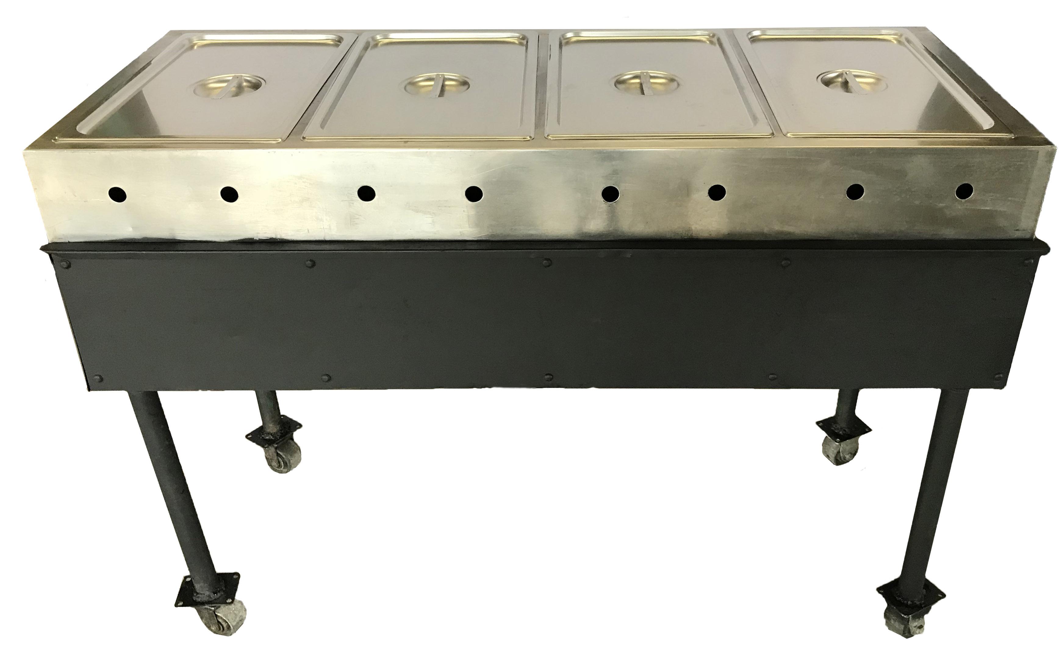 4 Bay Steam Table