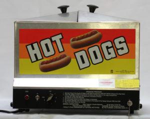 Hot Dog Steamer