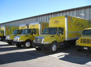 Party Time Rental Delivery Trucks