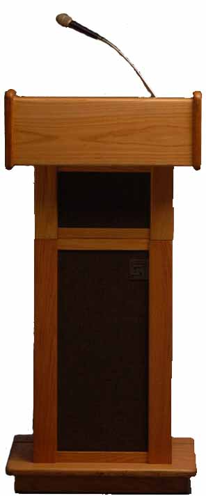 Floor Lecture with Speaker Microphone