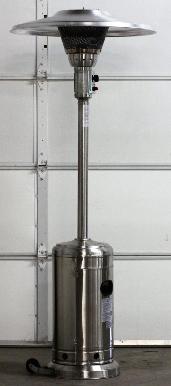 Mushroom Heater - Stainless Steel