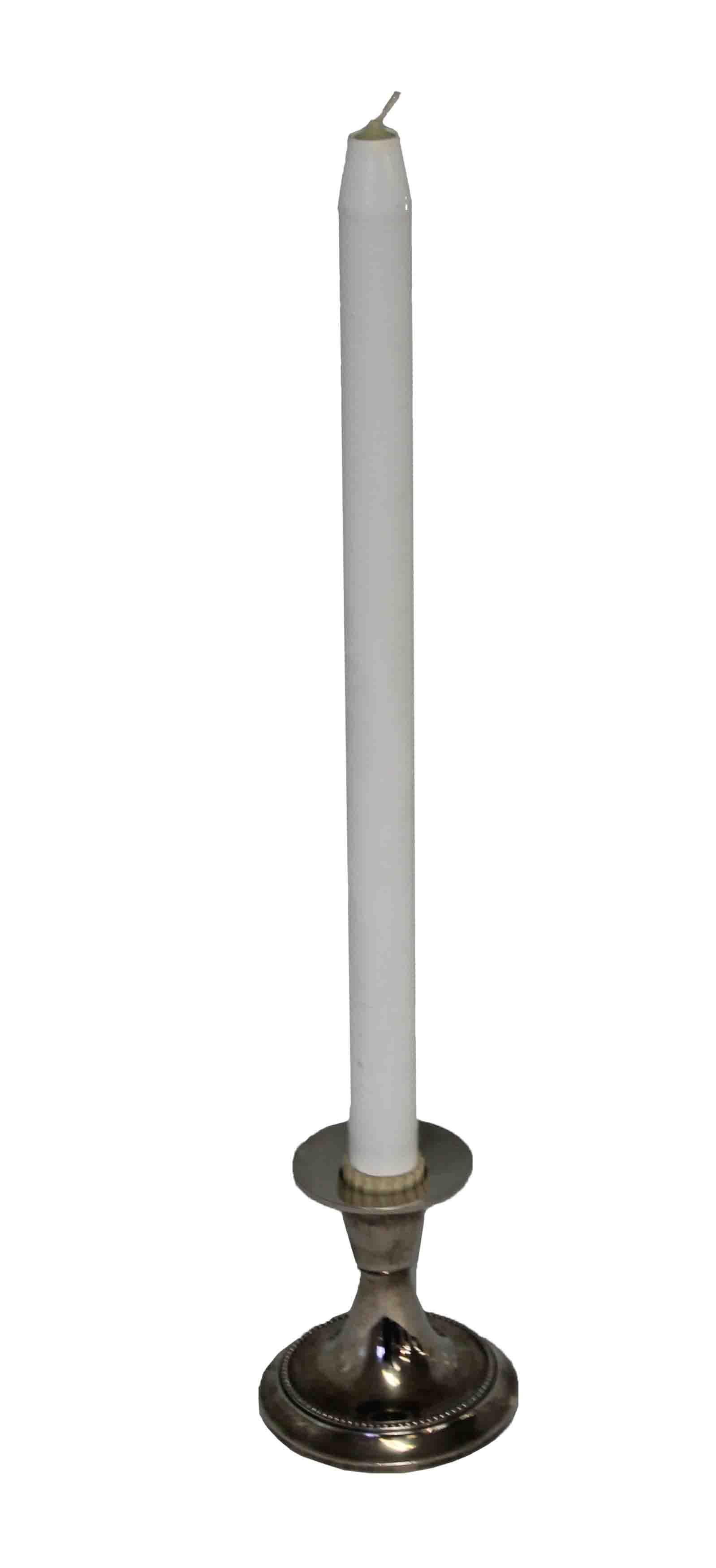 Single Silver Candlestick
