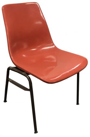 Orange Stack Chair