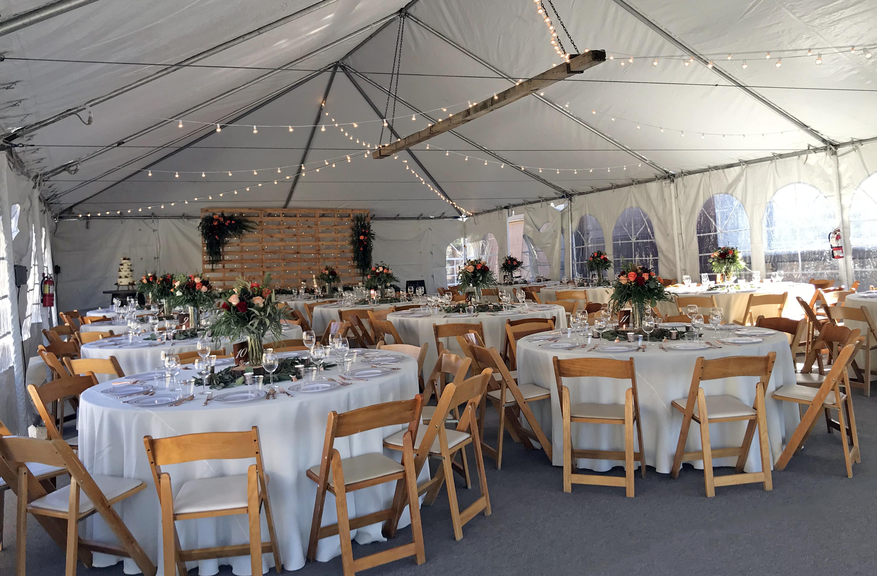 30' x 60' Frame Tent