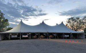 Hail Repair Tent
