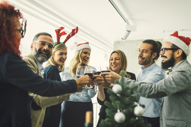 3 Tips For Throwing An Office Holiday Party That Won't Have Guests Hitting Snooze
