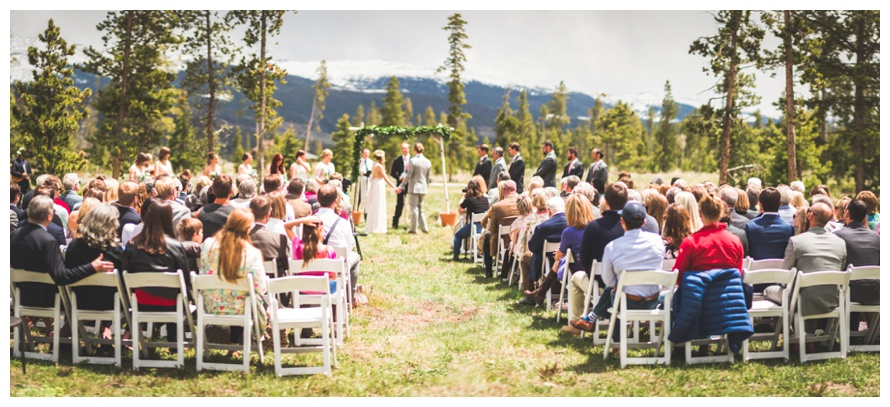 Wild Horse Inn Ceremony