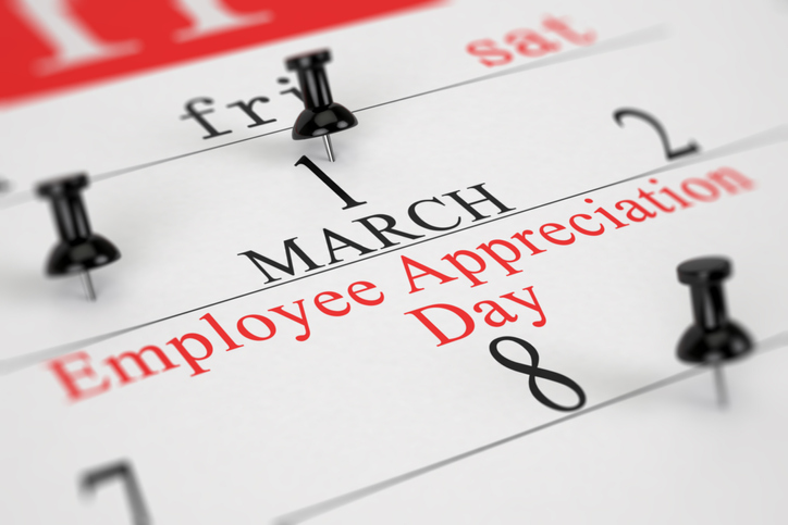 Spring into March with an Employee Appreciation Day party!