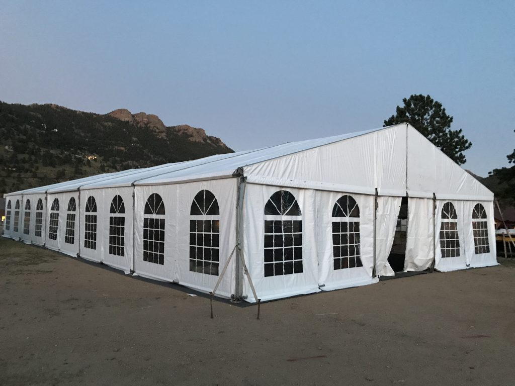 40' Wide Structure Tent